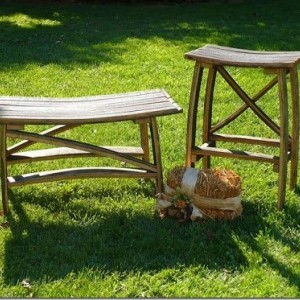 Kentucky Bourbon Barrel Stave Stool, PRICE INCLUDE SHIPPING