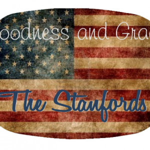 Vintage American Flag Personalized Family Platter