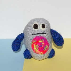 Monster, Kids Toy, Crochet Toy, Crochet Monster Toy, Stuffed Monster, Funny Toy, Ready to Ship, All Handmade, Gift for Toddler