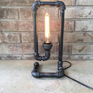 Industrial Table Lamp - FREE SHIPPING