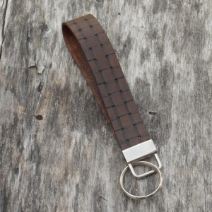 Handmade Leather Key Fob