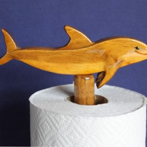 Bottle-Nosed Dolphin Paper Towel Holder