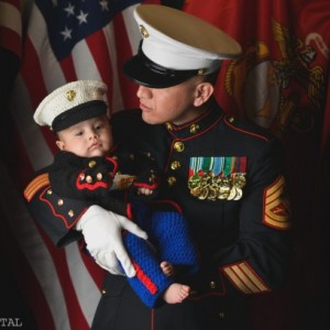 Marine corps baby boy outfit - Childrens dress blues 3 piece set -USMC dress blues outfit - Hobbyist License #21512-Made to order