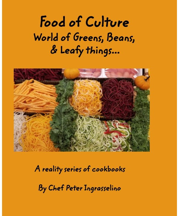 """Food of Culture"" cookbook ""World of Greens, Beans, & Leafy things"""