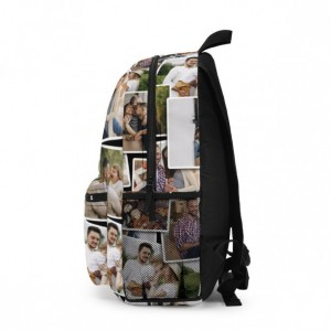 Personalized Backpack with Your Photos, Designer Backpack, Custom Photo Backpack Gift