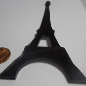 Eiffel Tower,Paris,laser cut,France,Paris charms,Eiffel Tower