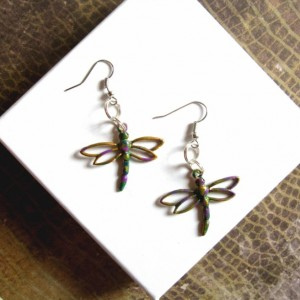 Dragonfly Earrings, Dragonfly Jewelry, Dragonfly Accessories, Insect Earrings, Insect Jewelry, Summer Earrings Filigree Dragonflies Earrings