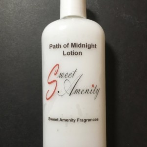 Path of Midnight-Scented Hand and Body Lotion for dry skin