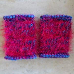 'Cotton Candy' Baby & Toddler Knit Leg Warmers