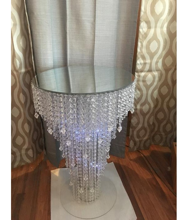 Chandelier Cake Table