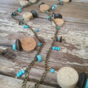 Boho Wino Charm Necklace