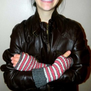 Knit Hand warmers