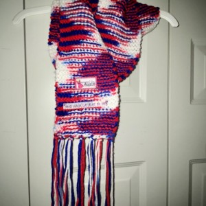 Red White and Blue Scarf