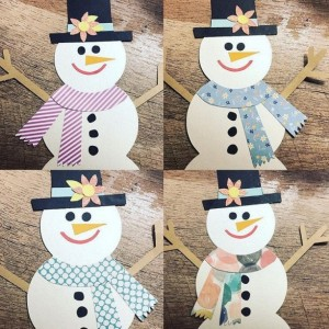 Snowman Banner - Snowman Decoration - The Crafty Broad - Frosty the Snowman Banner