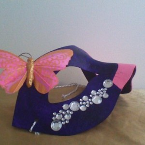 """""""Butterfly Diva"""" Cosplay/Masquerade Mask"""