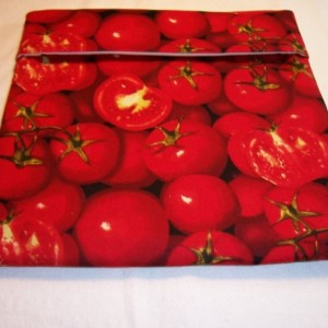 Tomato Print Microwave Potato Bag,Baked Potato,Kitchen,Gifts,Housewarming