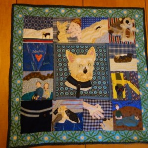 Beloved Buddy Memory Quilt-  (LARGE)  - celebrate your perfectly unique pet