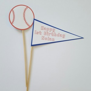 Baseball Centerpiece, Baseball Party, Baseball Birthday, Baseball Decorations