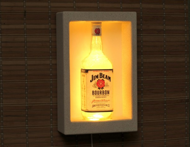 Jim Beam Color Changing Remote Controlled Wall Mount