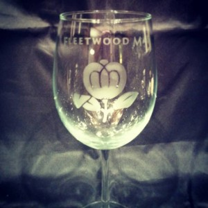 Fleetwood Mac Wine Glass