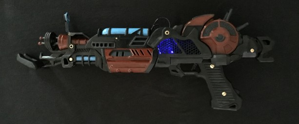 COD Black Ops Themed Mark II Full Size Replica with LED