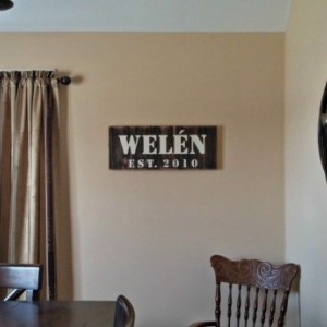 Man Cave Wall Decor | Man Cave Gifts | Home Established Sign | Rustic Family Established Sign | Game Room Sign | Wall Decor | Last Name Sign
