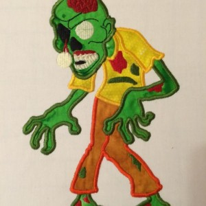 Zombie Applique T-Shirt