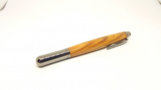 Handcrafted Olivewood Rollester Roller Ball pen