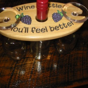Wine Caddy - Wine a little you'll feel better