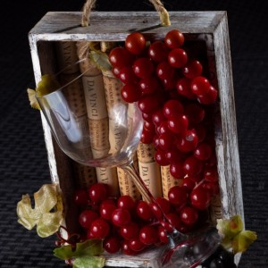 Wine wall hanging