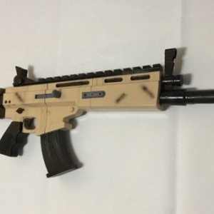 FORTNITE Legendary SCAR full size replica cosplay prop & toy