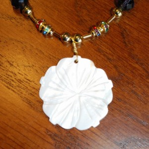 Necklace Flower Charm