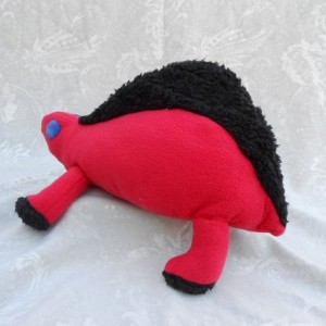 Red with Black Accents Dimetrodon Dinosaur