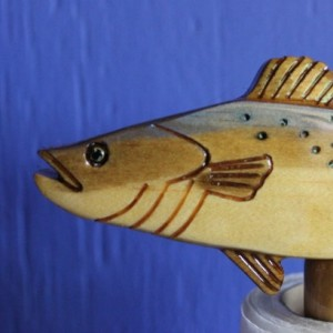 Spotted Sea Trout Paper Towel Holder