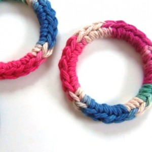 Cat Ferret Recycled Rings Toy Toys Handmade Michigan Blue Pink Red Green Tan Brown