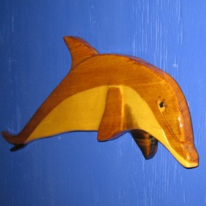 Porpoise. Dolphin Bottle- Nosed Wall Plaque
