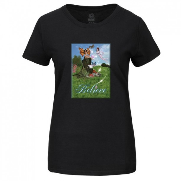 Believe Women's Fairy Tee