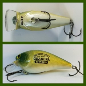 Worlds Best Grandpa Ever Fishing Lure, Grandfather gift, Pop Pop, Grampy, Grandad, Father gift, Man gift, Fishing gift, personalized