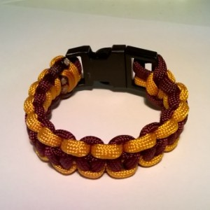 Washington Redskins single cobra bracelet