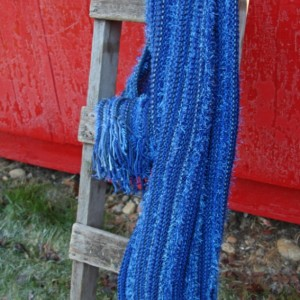 Knit Color Throw