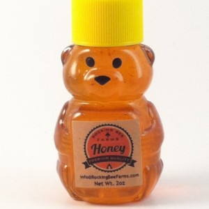 2oz Honey Bear-4 Pack!
