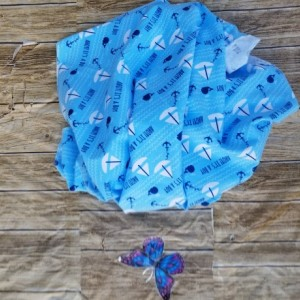Ahoy!!Sunggle Flannel Blanket