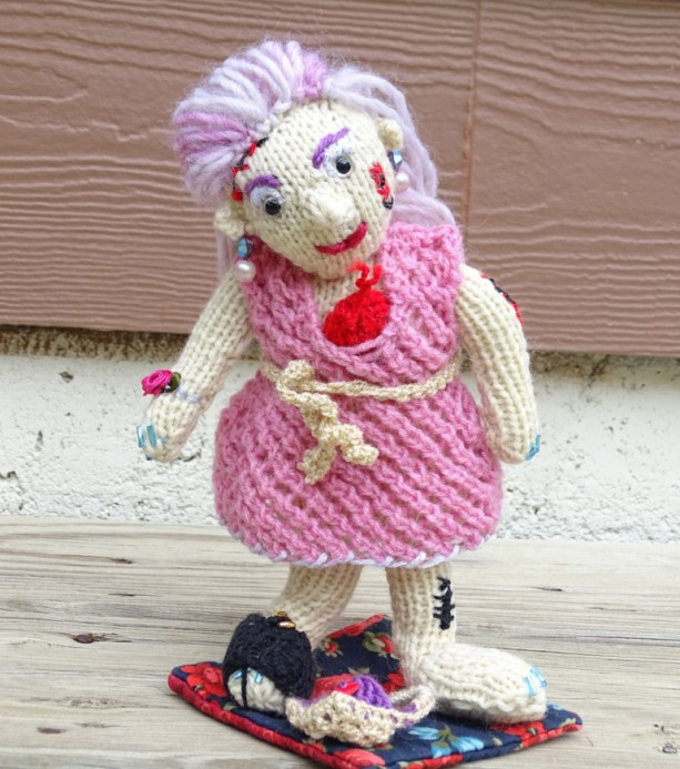 Zombie, Handmade Walkers, Zombie Doll, TWD Fans Gift, Knitted Zombie, The Walking Dead, Halloween Decoration, Zombie Girl, Ready to Ship