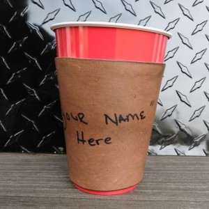 """Solo Cup"" Sleeve"