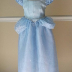Cinderella Gown for Girls Sizes 3-6