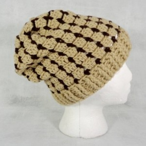 slouchy hat - slouchy beanie - brown hat - winter beanie - stocking stuffer - Christmas gift - holiday gift - gift under 50 - beanie hat