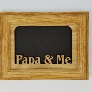 Papa and Me Picture Frame 5x7