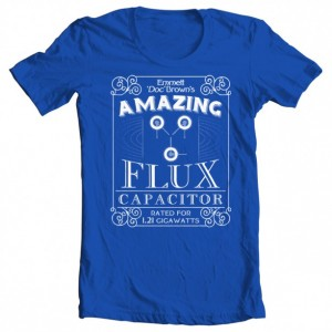 "Boys' Back to the Future ""Doc Brown's Flux Capacitor"" Tee"
