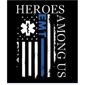 Fire, Police, EMT, Thin Blue line , Thin Red Line Graphic shirts for Firefighter, Police and EMT, Paramedic Heroes or supporters of heroes