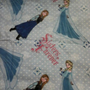 Baby Blanket Frozen Sisters Double Sided Flannel